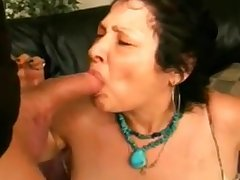 Granny Doing Blowjob