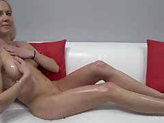 Attractive Auric Thorn Lady Gives Twat At Casting