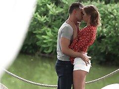 Beautiful outdoor sex on touching awesome Ukrainian girlfriend Oxana Chic