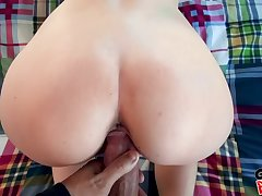 Enticing GF makes a porn with her chunky learn of BF