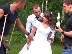 Russian link up luvs an bi-racial group-poke outdoors