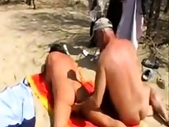 Girl fingered by stranger convenient the beach