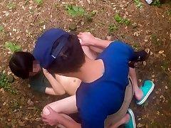 Jav Teen Henada Fucks Uncensored In Public Park, Scrawny Girl