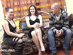 Casting Couch Of An french Non-professional Sex Couple