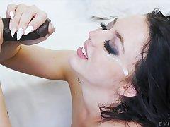 Balls deep interracial anal sex with pornstar Whitney Wright