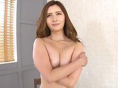 Shaved pussy Japanese unladylike Sugiura Anna enjoys getting pleasured
