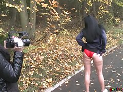 Kinky into the open air video with two sexy babes who love alongside flash