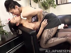 Amateur lesbian sex the last straw Marina Matsumoto added to her best friend