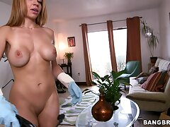 Foxy Latina chick Kylie Rogue takes money to drop all of her clothes