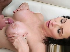 Stockings gilf jizzed in the first place
