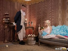 Costumed wholesale Luna Star has astounding fucking skills and likes facial